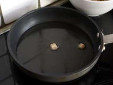 Croûtons frits - Etape 4