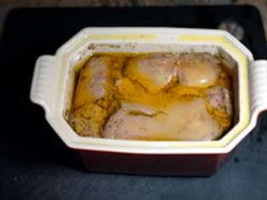 Terrine de foie gras à l'anguille fumée - Etape 10