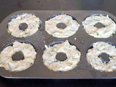 Muffins au bacon et au fromage - Etape 8