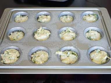 Muffins au bacon et au fromage - Etape 7