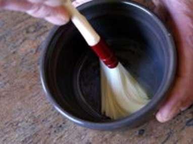 Oeufs cocotte aux pointes d'asperges - Etape 2