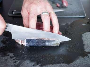 Tartare de thon aux saveurs asiatiques - Etape 2