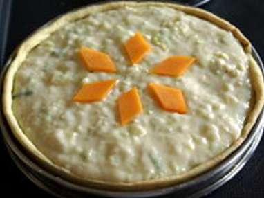 Tarte poireaux mimolette - Etape 11