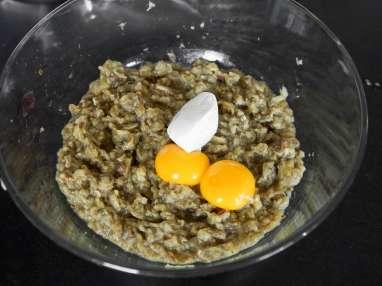Aubergines gratinées - Etape 7