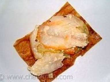 Croustillant de haddock à la fondue de poireaux - Etape 8