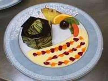 d cors d 39 assiettes de desserts comment d corer une assiette un plat recette par chef simon. Black Bedroom Furniture Sets. Home Design Ideas