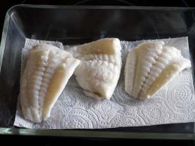 Filets de turbot pochés - Etape 6