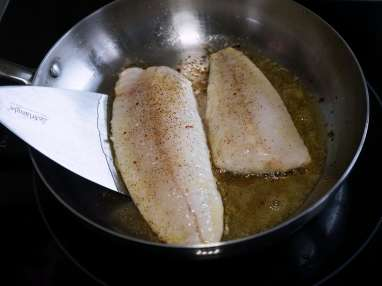 Filets de turbot sautés - Etape 6