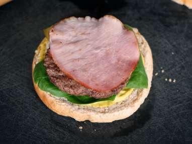 Hamburgers - Etape 8