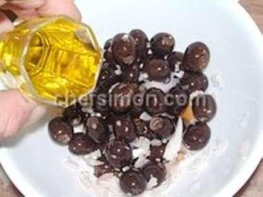 Olives apéritives - Etape 2