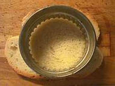 Pain perdu et poires caramelisées - Etape 1