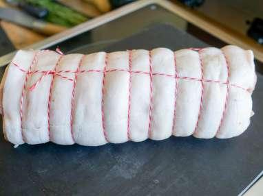 Rôti de porc - Etape 1
