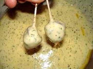 Beignets d'escargots façon asiatique - La pâte à beignet et la cuisson - Etape 10