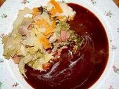 Chartreuse de poule faisane : la cuisson - Etape 8