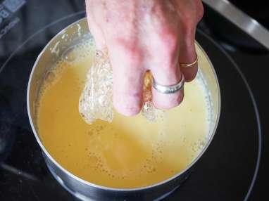 Crème bavaroise - Etape 8