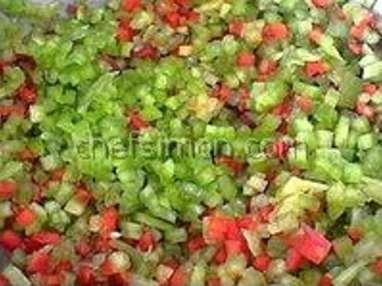 Légumes à la grecque - Etape 3
