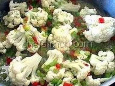 Légumes à la grecque - Etape 4