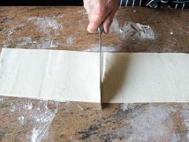 Allumettes aux anchois - Etape 3