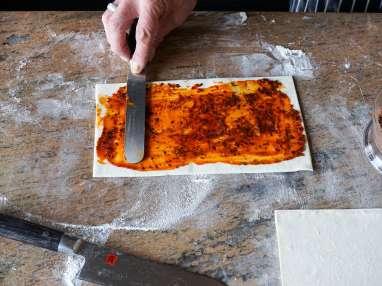 Allumettes aux anchois - Etape 6