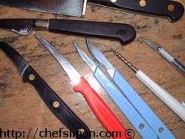 Couteaux de cuisine - Etape 4