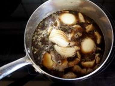 Filet mignon aux gousses d'ail - Etape 2