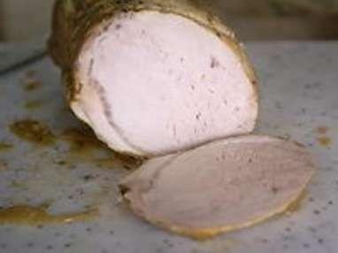 Rôti de porc cuit sous-vide à basse température - Etape 8