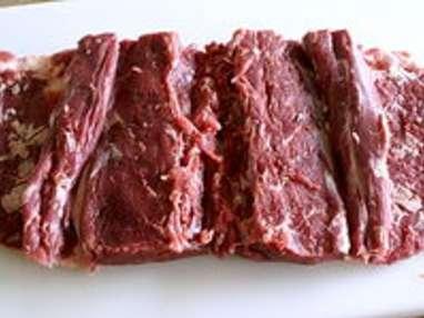 Selle d'agneau rôtie - Etape 2