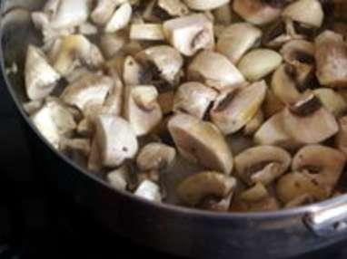 Velouté de champignons - Etape 4