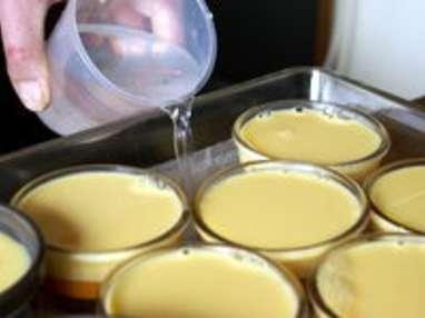 Crème renversée au caramel - Etape 11