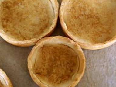 Croustades d'oeufs pochés florentine - Etape 1
