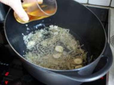 Poulet au vin jaune - Etape 4