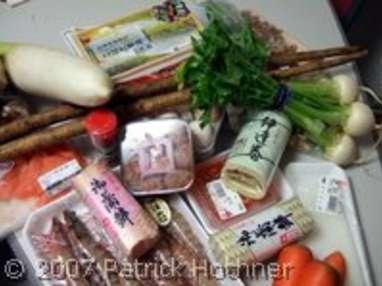 Les ingrédients de la cuisine japonaise