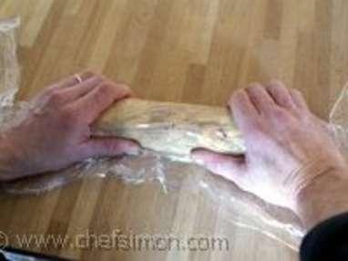 Ballotine de foie gras - Etape 3