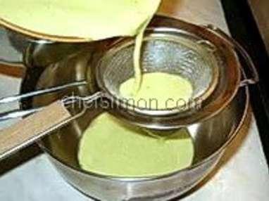 Glace pistache - Etape 3