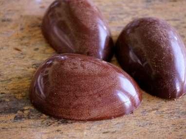 Gros oeufs en chocolat - Etape 10