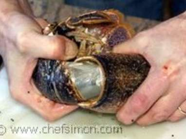 Médaillons de homard sautés au beurre moussant - Etape 3