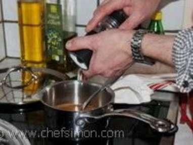 Sauce au balsamique - Etape 6
