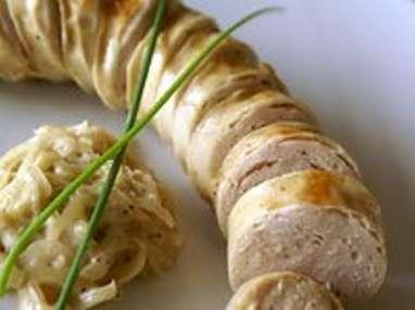 Boudin blanc aux échalotes - Etape 11