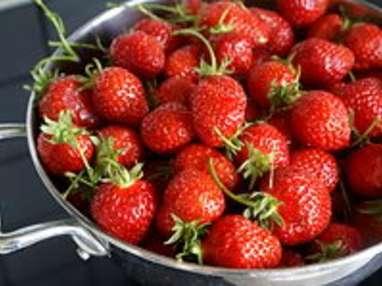 Confiture de fraises - Etape 2