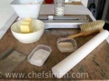Croissants et pains au chocolat - La détrempe - Etape 1