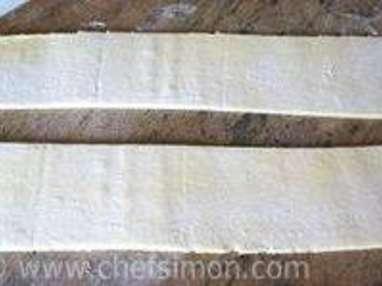 Croissants et pains au chocolat - Découpe et cuisson - Etape 3