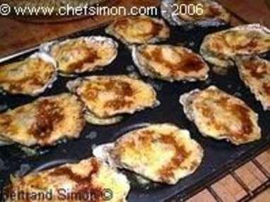 huitres au sabayon recette d 39 huitres chaudes au sabayon recette par chef simon. Black Bedroom Furniture Sets. Home Design Ideas