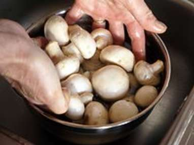 Nettoyer les champignons - Etape 6