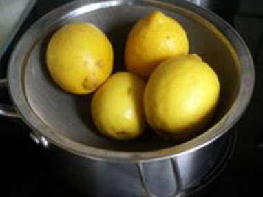 Pâte de citrons confits - Etape 2
