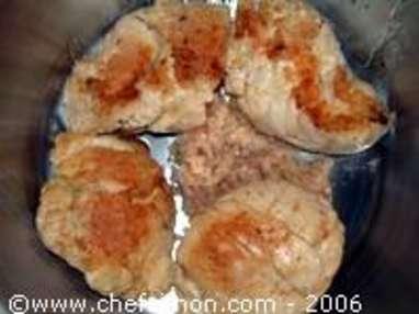 Ris de veau braisés - Etape 5