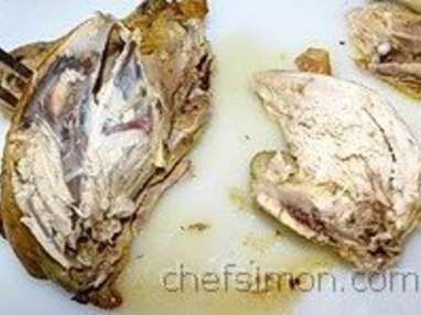 Découper une volaille rôtie - Etape 9