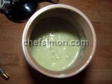 Espuma d'asperges vertes - Etape 6
