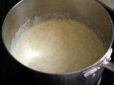Fèves à la crème - Etape 4