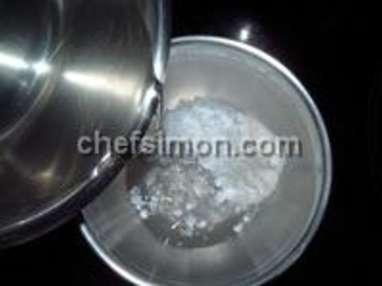 Glace yaourt au coquelicot - Etape 3