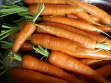 Jardinière de légumes : la préparation des légumes - Etape 1